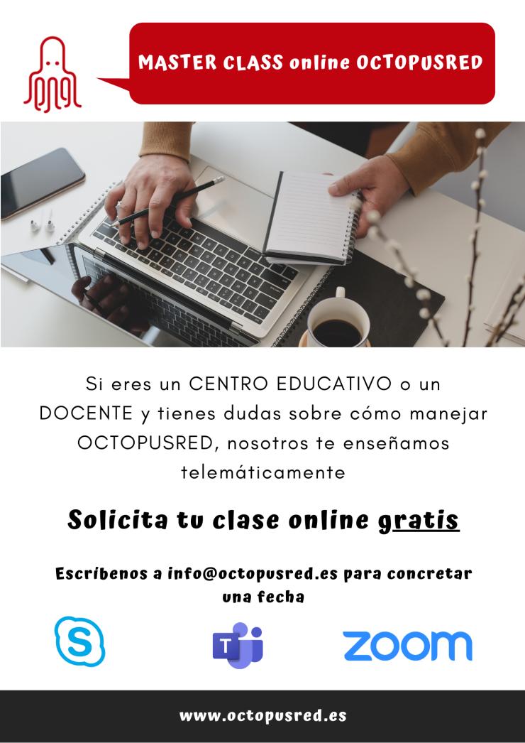 MASTER CLASS online OCTOPUSRED